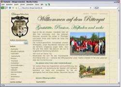 Beschreibung von www.rittergut-muenchen.de