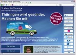 Website in neuem Fenster öffnen - Präventionsmobil klärt thüringenweit über  Volkskrankheiten auf