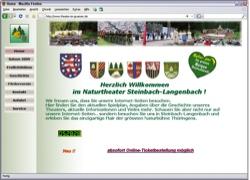Beschreibung von www.theater-im-gruenen.de