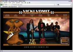 Beschreibung von www.vicki-vomit.de