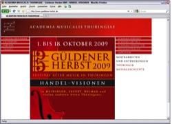 """Website in neuem Fenster öffnen - Thüringer Festival für alte Musik widmet sich  """"Händel-Visionen"""""""