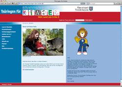 Beschreibung von www.thueringen-fuer-kinder.de