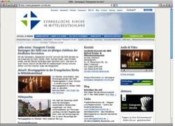 Website in neuem Fenster öffnen - Die Evangelische Kirche erinnert an die Friedliche Revolution