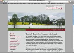 Beschreibung von www.moedlareuth.de