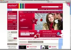 Beschreibung von www.mydays.de