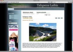 Website in neuem Fenster öffnen - Planung und Bau der Trinkwasser-Talsperre bei Unterweißbach