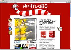 Beschreibung von www.nichtlustig.de