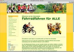 Website in neuem Fenster öffnen - Ausflüge und Stadtrundfahrten mit Tandem oder Spezialrad