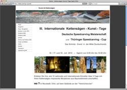 Website in neuem Fenster öffnen - Zum dritten Mal messen sich Speed-Carver in Neustadt an der Orla