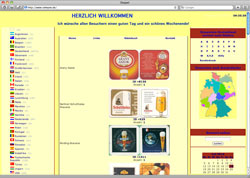 Website in neuem Fenster öffnen - Thüringer hat fast 8000 Bierdeckel gesammelt und tauscht sie online
