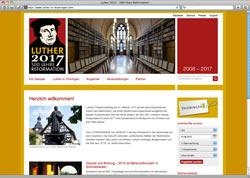 Website in neuem Fenster öffnen - 500. Jubiläum begleitet Thüringen gleich zehn Jahre lang