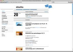 Beschreibung von www.nationaltheater-weimar.de