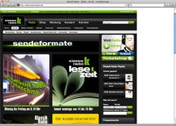 Beschreibung von www.klassikradio.de