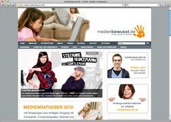 Website in neuem Fenster öffnen - Studenten der TU Ilmenau klären über sinnvolle Mediennutzung auf