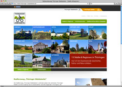 Website in neuem Fenster öffnen - Thüringer Radfernweg führt von Eisenach bis nach Altenburg