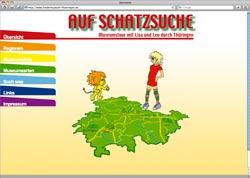 Website in neuem Fenster öffnen - Fast 130 Thüringer Ziele für kleine Entdecker und Bastler