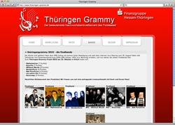 Beschreibung von www.thueringen-grammy.de