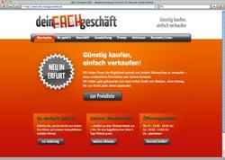 Website in neuem Fenster öffnen - Second-Hand-Laden bietet Schaufenster statt Warenaufkauf an