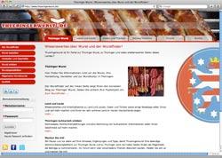 Website in neuem Fenster öffnen - Neues Portal will Thüringen und seine Wurstspezialitäten vorstellen