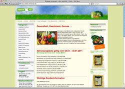 """Website in neuem Fenster öffnen - """"Biokisten"""" ganz nach Geschmack zusammen stellen und liefern lassen"""
