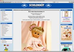 Website in neuem Fenster öffnen - Thüringer Hersteller kreiert seit 115 Jahren Spiel- und Künstlerpuppen