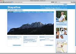 Beschreibung von www.stayalive.com