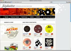 Website in neuem Fenster öffnen - Jenaer Plattenladen bietet Musikfans aufwändig gestaltete Vinylscheiben