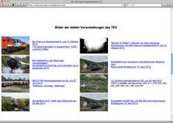 Website in neuem Fenster öffnen - Großes Fest und Sonderzüge zum 20-jährigen Jubiläum