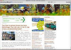 Website in neuem Fenster öffnen - Radfernwege und Tagesausflüge für ganz Thüringen vorgestellt