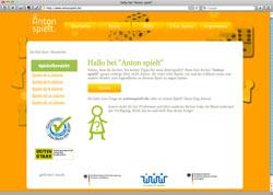 Beschreibung von www.antonspielt.de