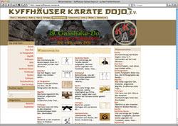 Beschreibung von www.kyffhaeuser-karate.de