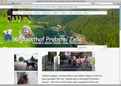Website in neuem Fenster öffnen - Probstei erfreut zugleich Wanderer, Pferdefreunde, Radfahrer und Kanuten