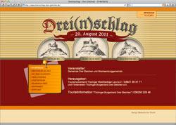 Website in neuem Fenster öffnen - 780-jährige Legende wird mit Musik und Feuerwerk wahr