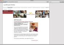 Beschreibung von www.landfrauen-foertha.de
