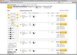 Website in neuem Fenster öffnen - Eisenbahn, Flugzeug, Auto und Busse in direkter Konkurrenz