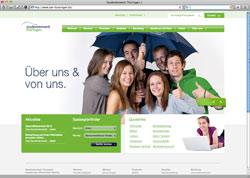 Website in neuem Fenster öffnen - BaföG-Infos, Mensen-Speisepläne und Ansprechpartner leicht finden