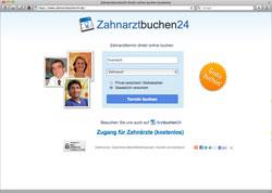 Website in neuem Fenster öffnen - Termine für Vorsorge und Behandlungen bequem online buchen