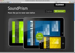 Website in neuem Fenster öffnen - Farbige Oberfläche macht das Musizieren für Laien zum Kinderspiel