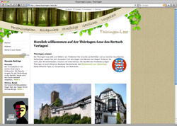 Website in neuem Fenster öffnen - Thüringer Geheimtipps, Kräuterkunde, Geschichte und Kochrezepte
