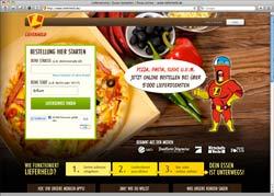 Website in neuem Fenster öffnen - Per Website, Handy und Facebook aus tausenden Speisekarten wählen