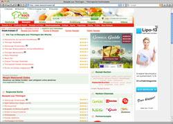Website in neuem Fenster öffnen - Thüringen ist in der Rezeptsammlung herzhaft und süß gut vertreten