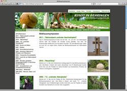 Website in neuem Fenster öffnen - Internationale Künstler hinterlassen Spuren und Skulpturen
