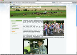 Website in neuem Fenster öffnen - Landwirte wollen ihr Image mit Medienkampagne verbessern