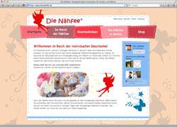 Beschreibung von www.dienaehfee.de