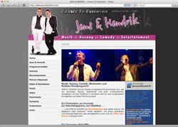 Website in neuem Fenster öffnen - Duo aus Rudolstadt sorgt bei Firmenfesten und Partys für Stimmung