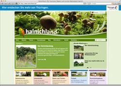 Beschreibung von www.hainichland.de