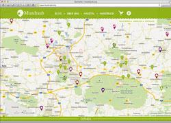 Website in neuem Fenster öffnen - Äpfel, Pflaumen, Beeren und Kräuter finden und kostenlos ernten