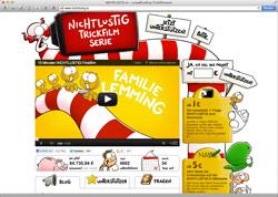 Website in neuem Fenster öffnen - Comic-Zeichner will mit Fan-Unterstützung seine Figuren ins TV bringen