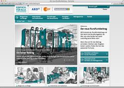Beschreibung von www.rundfunkbeitrag.de