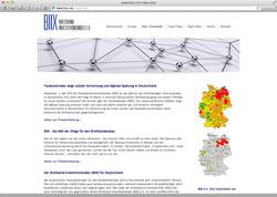 Website in neuem Fenster öffnen - Wissenschaftlicher Index verdeutlich Chancen auf Breitband-Netzausbau